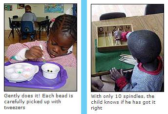Learning the Montessori way